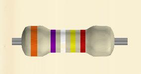 Code couleur des résistances