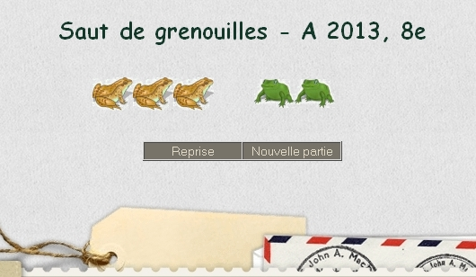 Grenouilles - A 2013, 8e