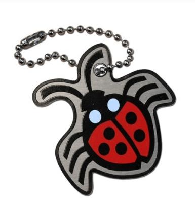 Ladybug cachekinz travel tags